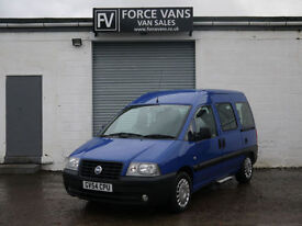 FIAT SCUDO 2.0JTD DISABLED WELFARE ACCESS MOBILITY WINCH CAMPER DAY DELIVERY VAN