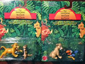 Mint + Sealed // 1993 Disney's THE LION KING Collectible Figures