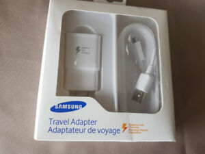 Brand new Samsung fast charger and USB Cable