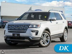 2018 Ford Explorer Limited 301A  AWD **Ford Certified Pre-Owned*