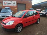 2004(04) Ford Fiesta 1.25 Finesse Red 3dr Hatchback, **ANY PX WELCOME**