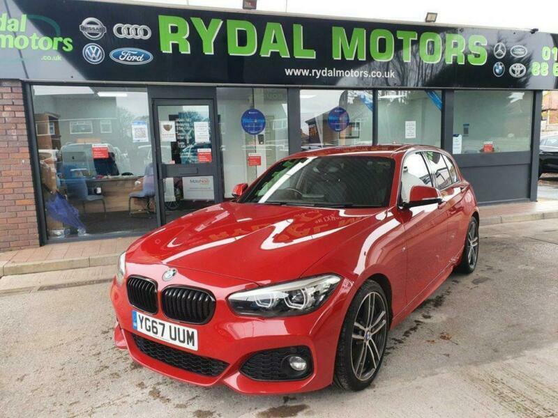 2017 67 BMW 1 SERIES 1.5 118I M SPORT SHADOW EDITION 5D 134 BHP