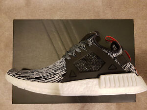 Adidas NMD XR1 Primeknit Glitch Camo Black Red in 10.5