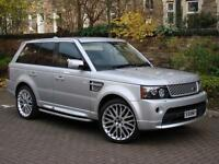 AUTOBIOGRAPHY UPGRADED!!! RANGE ROVER SPORT 2.7 TDV6 HSE 5dr 4WD, FULL LEATHER, XENON, HAMAN KARDON