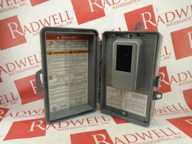Schneider Electric Cq02-4l60nrnm / Cq024l60nrnm (used Tested Cleaned)