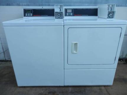 Commercial Coin Operated Washing Machines and Dryers