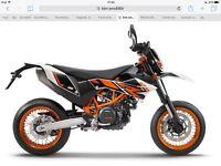 Ktm smc 690 new bike save £1000