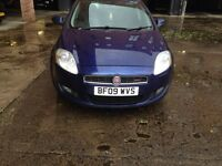 EXCELLENT CONDITION 2009 FIAT BRAVO LOW MILEAGE & MOTD