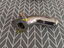 Yanmar stainless steel exhaust elbow