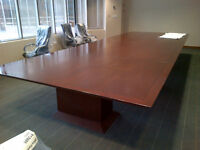 EXECUTIVE BOARDROOM TABLE 25 FEET BY 7 FEET LIKE-NEW ONLY 3995.0 Mississauga / Peel Region Toronto (GTA) Preview