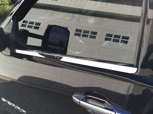 Polished Stainless window trim