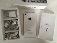 iPhone 4S White 16GB 130$ great working condition