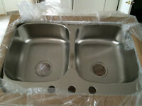 BLANCO Stainless Steel double Sinks