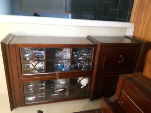 Tall buffet cabinet