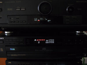 RECEIVER and CD Player for parts or repair