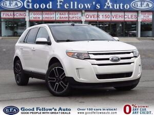 2014 Ford Edge SEL MODEL, AWD, LEATHER SEATS & SUADE, PANROOF