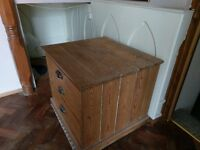 antique drawers in pine