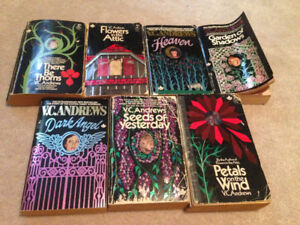 7 V.C.Andrews Books For Sale!