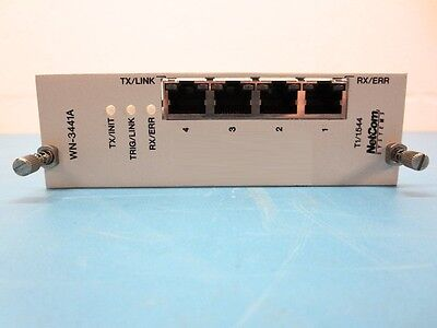 NetCom Systems WAN T1 Frame Relay/PPP WN-3441A T1/1.544 (4 Port SmartCard) Ppp Frame Relay