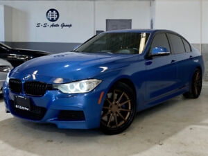 2013 BMW 335I XDRIVE M PKG|NAV|BACK UP|ACCIDENT FREE|BRONZE RIMS