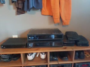 Rogers Cable Boxes, HD, DVR and Standard def