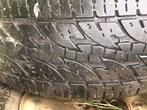 Winter truck tires