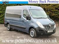 2015 (15) RENAULT MASTER MM33 BUSINESS L2H2 MWB 4 SEAT WHEELCHAIR ACCESS MINIBUS