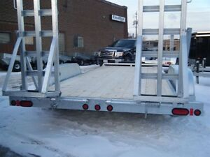 2017 EXCALIBUR GALVANIZED 7 TON LOW BED BOBCAT/EQUIP TRAILER Kingston Kingston Area image 3