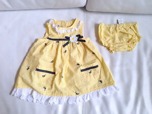 Dresses for a baby girl, 12-18 months