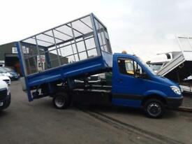 Mercedes-Benz Sprinter 2.2CDi 513(5000kg) 513CDi LWB Tipper caged sides taillift
