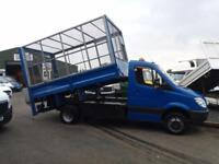 Mercedes-Benz Sprinter 2.2CDi 513(5000kg) 513CDi LWB Tipper caged sides taillift