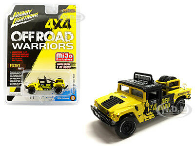 HUMMER H1 RACE TRUCK W/TIRE CARRIER LTD 3600 PCS 1/64 JOHNNY LIGHTNING JLCP7157 for sale  Shipping to Canada