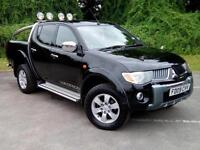 2009 Mitsubishi L200 2.5 DI-D Warrior Double Cab Pickup 4WD 4dr PICKUP in B(...)