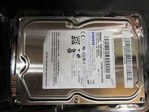 1TB Samsung HD103UJ 7200 RPM SATA II Hard drive