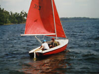16' Sailboat with trailer