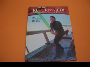 STAR WARS RETURN OF THE JEDI HARDCOVER STORYBOOK 1983