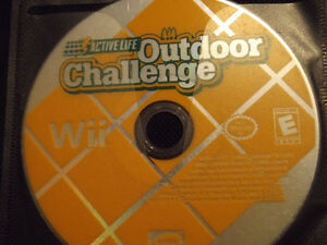 Outdoor Adventure Wii Game with Interactive Mat