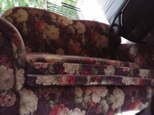 FREE loveseat couch! Must pick-up.
