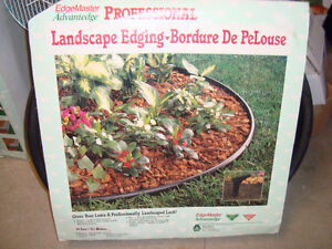 landscape edging ordure de pelouse