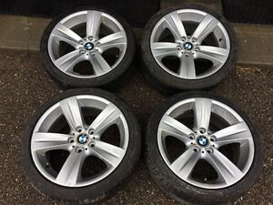 BMW Staggered Rims Oem 18inch