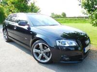 2012 Audi A3 2.0 TDI 170 Black Edition 5dr [Start Stop] Sat Nav! BOSE! FASH! ...