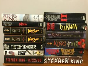 Stephen King First Editions For Sale....
