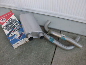 Z28 Muffler and tail pipes