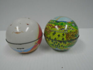 Tin Ball Sphere made in Switzerland 1979
