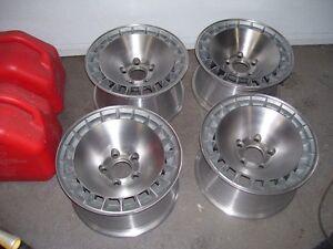 roues aluminium de trans-am ou mag transam 79-80-81 ou autre
