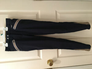 Navy Mesh Breeches