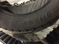 Dunlop Winter Used Tires 265,50R 20