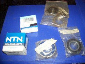 Assorted New Bearings