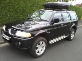 Mitsubishi Shogun Sport 2.5TD Warrior 2006 1 Owner FSH