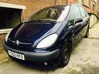Citreon piccasso 2.0 deisel 2002 1 1yr mot px available